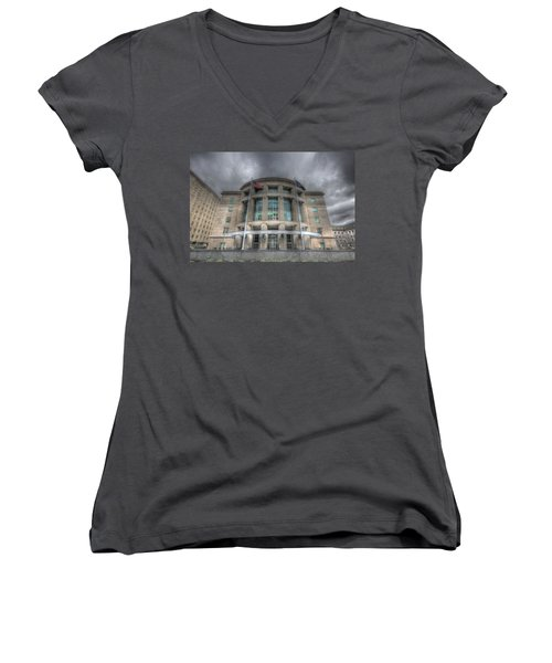 Pennsylvania Judicial Center Women's V-Neck (Athletic Fit)
