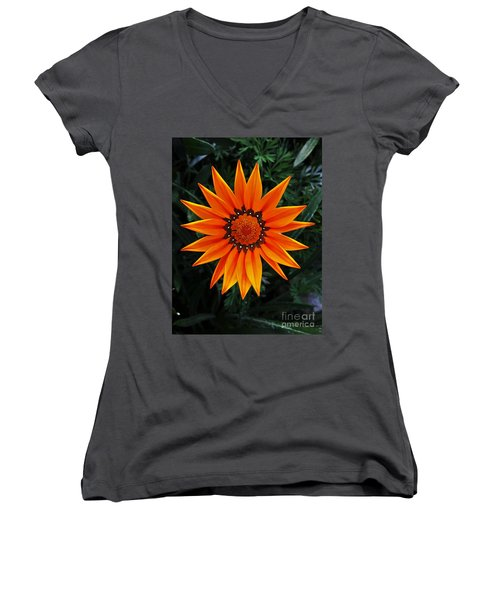 Perfect Flower  Women's V-Neck T-Shirt (Junior Cut) by Jasna Gopic