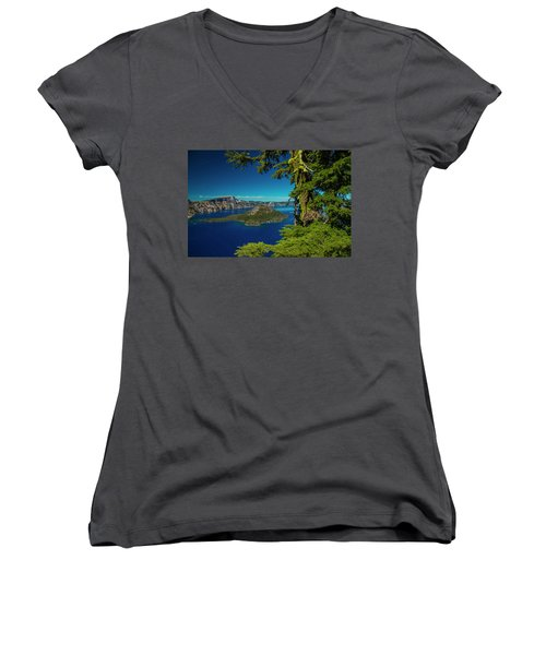 Perfect Picture Frame Women's V-Neck