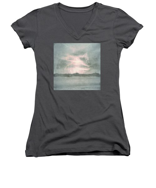 Ghosts And Shadows Vii - Personal Rapture  Women's V-Neck T-Shirt