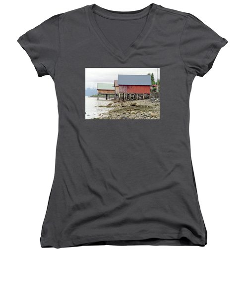 Petersburg Coastal Women's V-Neck (Athletic Fit)