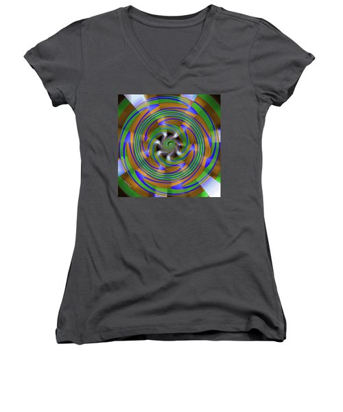Phasing Women's V-Neck T-Shirt