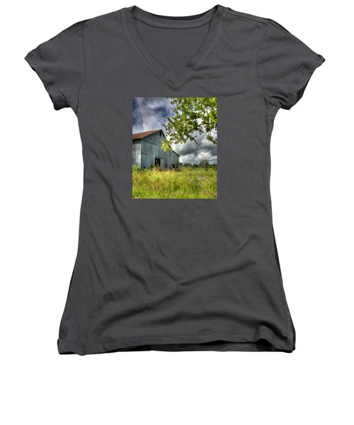 Phillip's Barn #2 Women's V-Neck