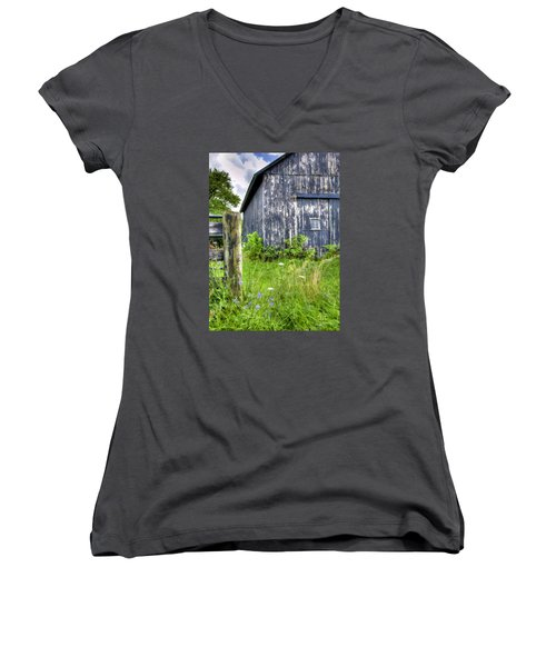 Phillip's Barn #3 Women's V-Neck