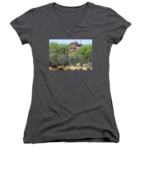 Phoenix Botanical Garden Women's V-Neck