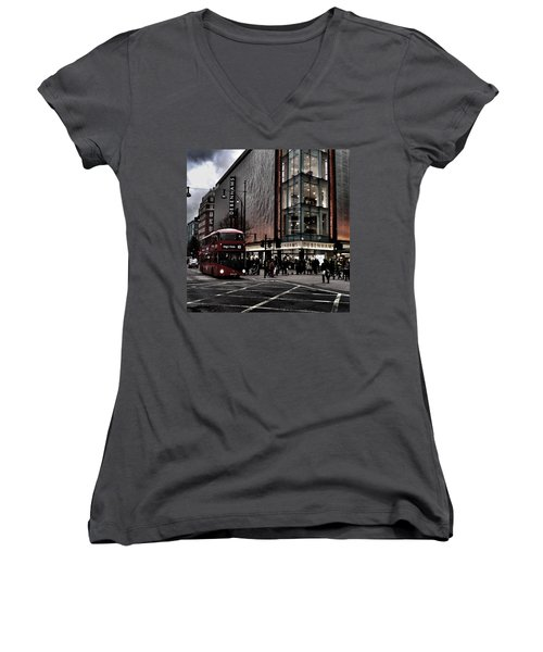 Piccadilly Circus Women's V-Neck