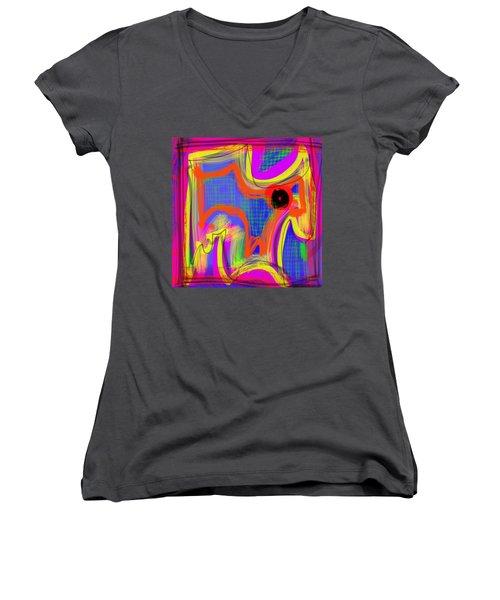 Pichorso Women's V-Neck T-Shirt