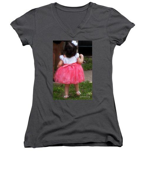 Pick Me Up Women's V-Neck T-Shirt