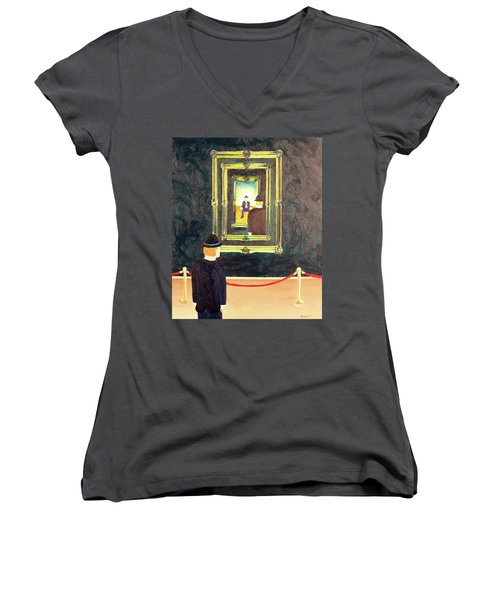 Pictures At An Exhibition Women's V-Neck