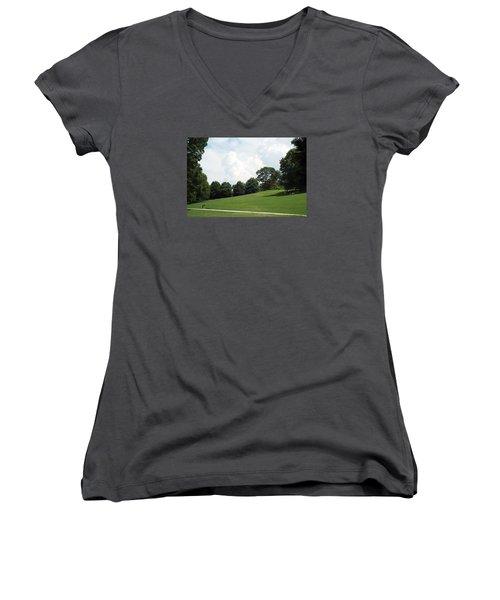 Piedmont Park Women's V-Neck T-Shirt