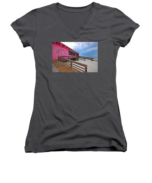 Pink Pony Women's V-Neck