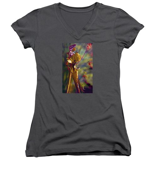 Pitcher Plant Women's V-Neck T-Shirt