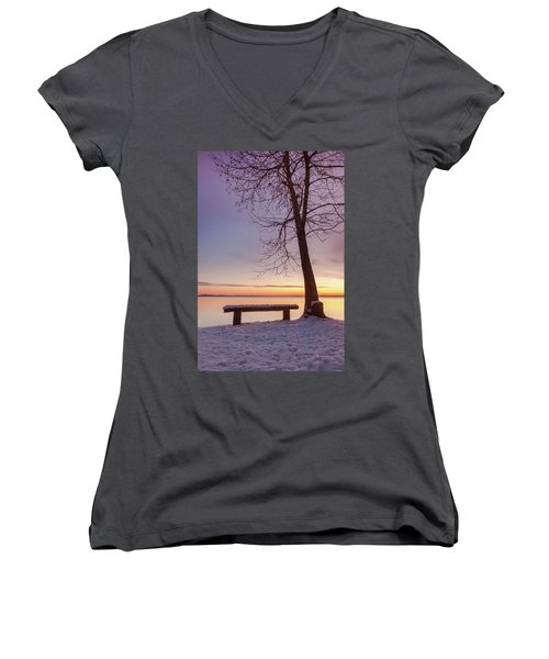 Place For Two Women's V-Neck (Athletic Fit)