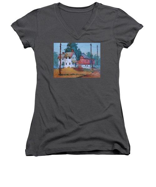 Plain And Simple Women's V-Neck T-Shirt