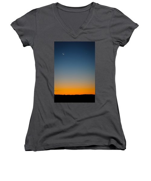 Planet Sunrise Women's V-Neck