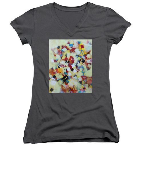 Play Time Women's V-Neck T-Shirt