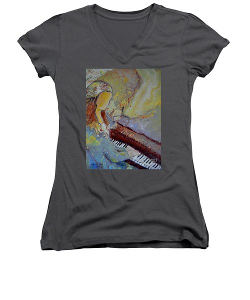 Playing By Heart Women's V-Neck