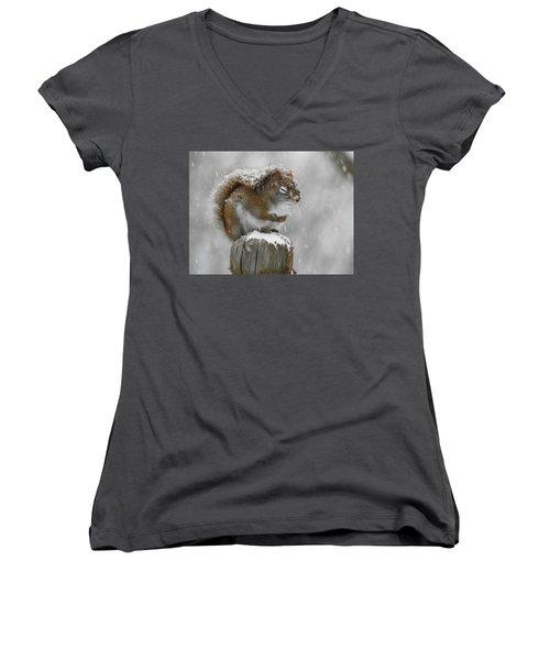 Please God Women's V-Neck T-Shirt