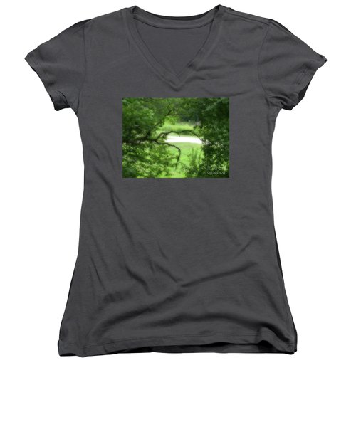 Reaching Out Women's V-Neck