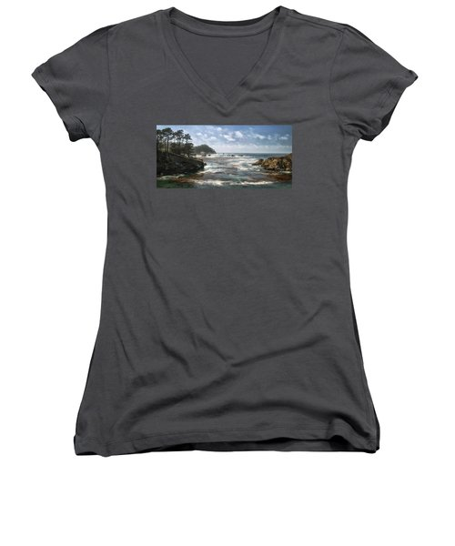 Point Lobos Women's V-Neck (Athletic Fit)