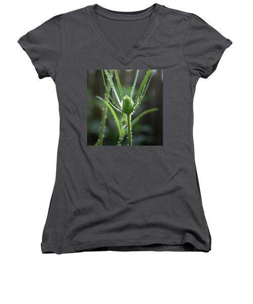 Points Of Light -  Women's V-Neck T-Shirt