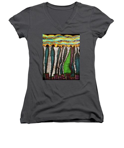 Poisoned Women's V-Neck T-Shirt