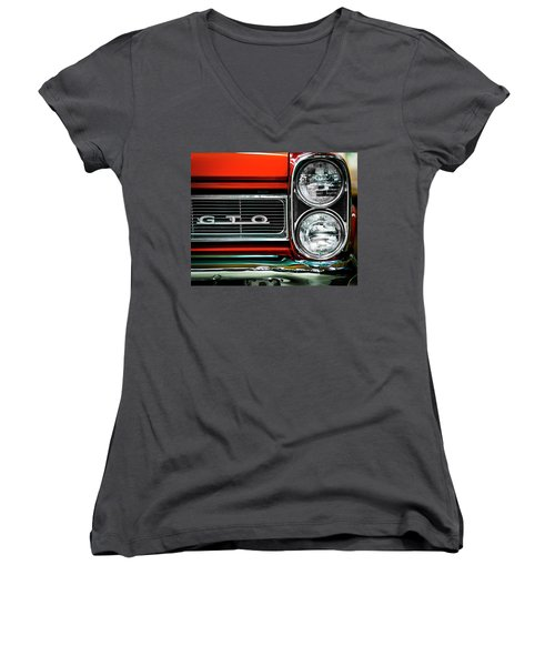 Pontiac Gto Women's V-Neck (Athletic Fit)
