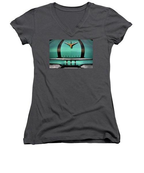 Pontiac One Women's V-Neck T-Shirt