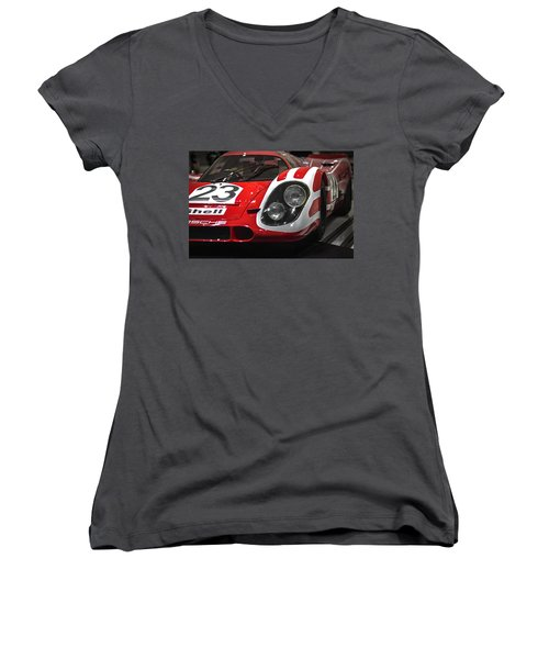 Porsche  Women's V-Neck