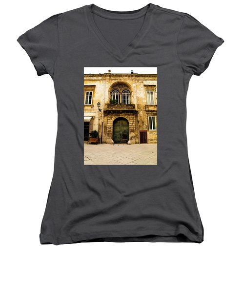 Porta 28 Women's V-Neck T-Shirt