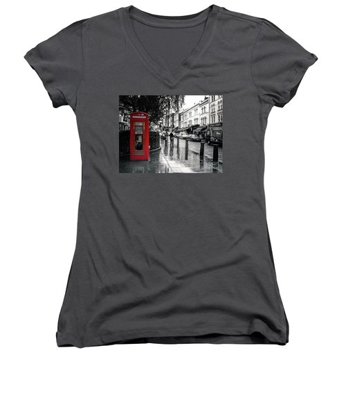 Portobello Road London Women's V-Neck T-Shirt