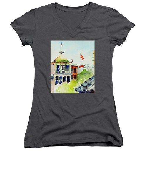 Portsmouth Square Women's V-Neck T-Shirt