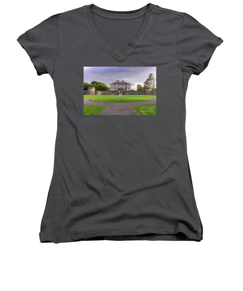 Portumna House  Women's V-Neck (Athletic Fit)
