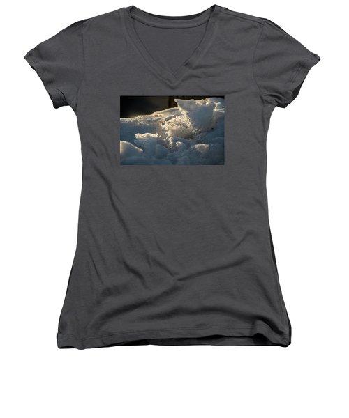Post Plow - Women's V-Neck T-Shirt
