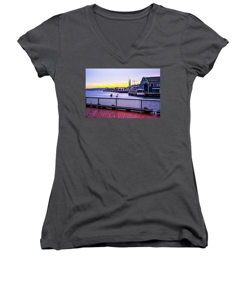 Posted  Women's V-Neck (Athletic Fit)