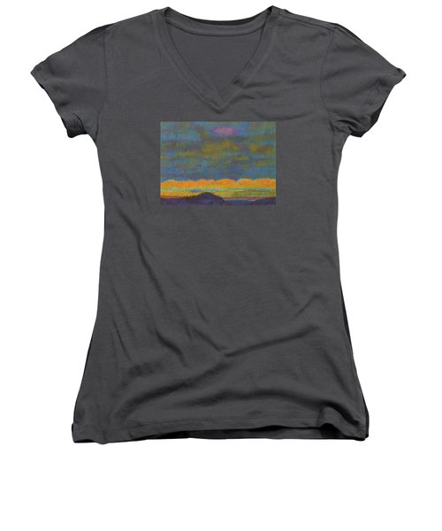 Powder River Reverie, 1 Women's V-Neck