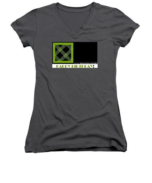 Precision Women's V-Neck T-Shirt (Junior Cut)