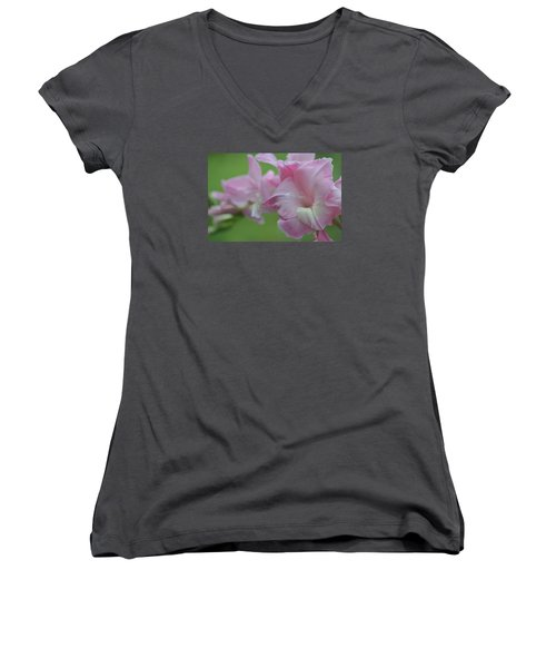 Pretty In Pink 2 Women's V-Neck T-Shirt (Junior Cut)
