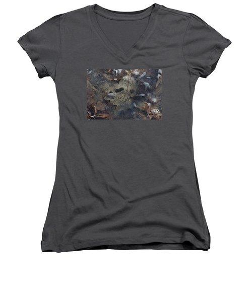Prisoner Of The Ice Women's V-Neck T-Shirt (Junior Cut) by Cendrine Marrouat