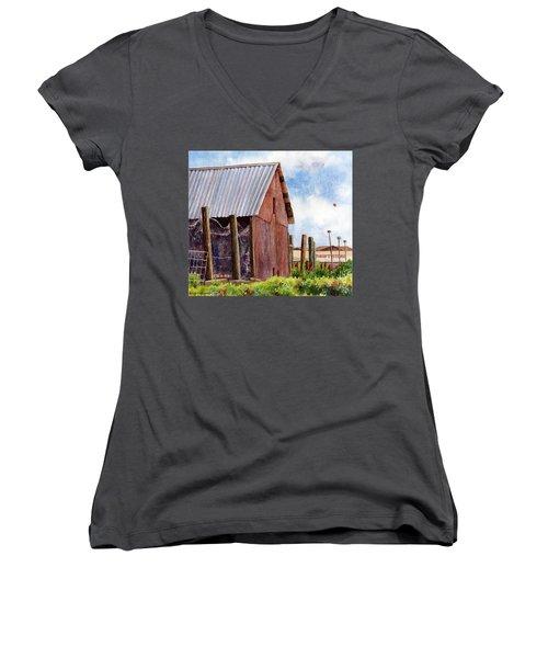 Progression Women's V-Neck T-Shirt