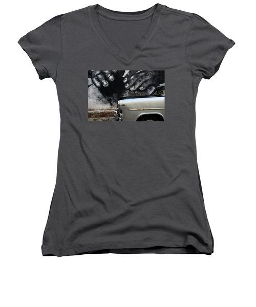 Protection Women's V-Neck T-Shirt