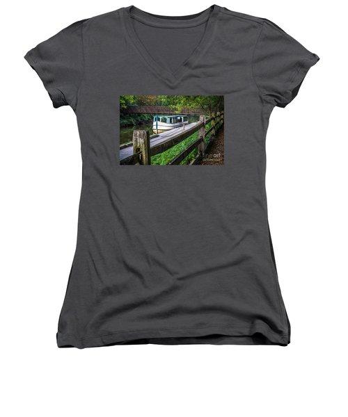 Providence Metropark Erie Canal  Women's V-Neck