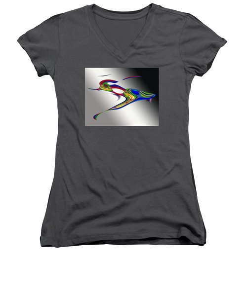 Psp4066 Women's V-Neck (Athletic Fit)