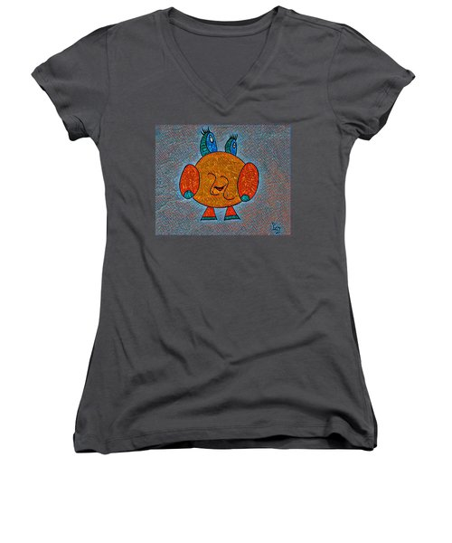 Puccy Women's V-Neck (Athletic Fit)