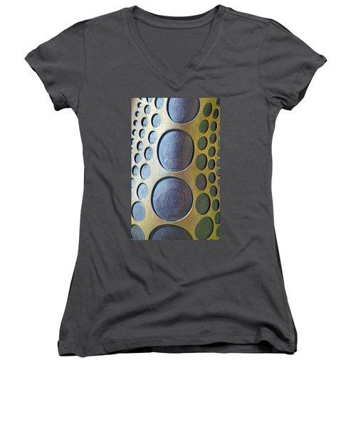Pumpkin No. 2-1 Women's V-Neck T-Shirt