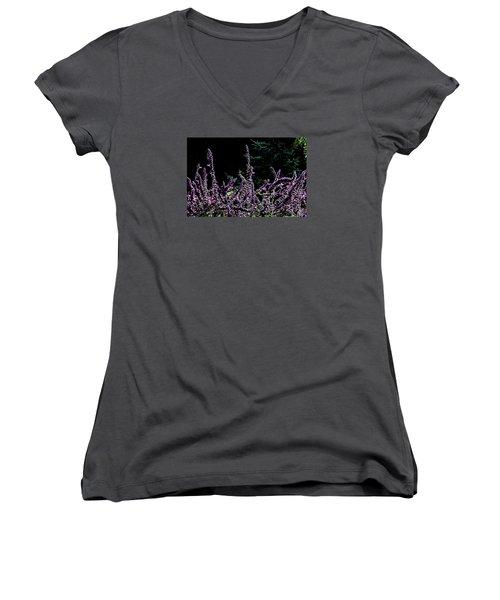 Purple Beauty Women's V-Neck