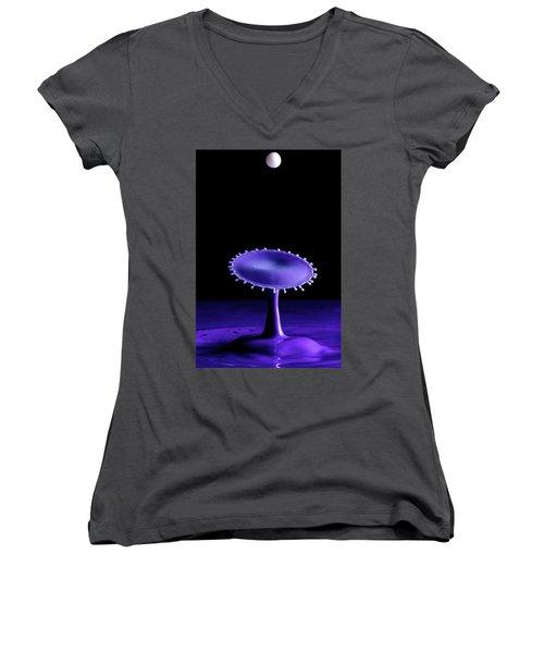 Purple Drop Women's V-Neck