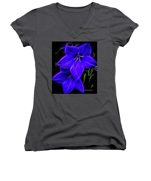 Purple Passion Women's V-Neck (Athletic Fit)