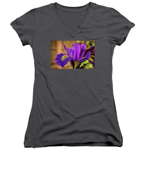 Purple People Eater Women's V-Neck