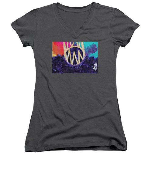 Purple Reign  Women's V-Neck